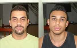 Raphael Faria Novaes, 23 anos, e Diogo Soares Gonçalves, 27 anos