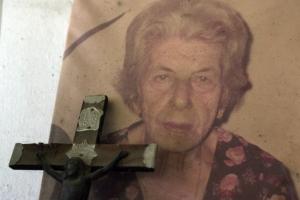 A aposentada Maria Salete Vieira, 85 anos, vivia há mais de cinco décadas na Carobinha.