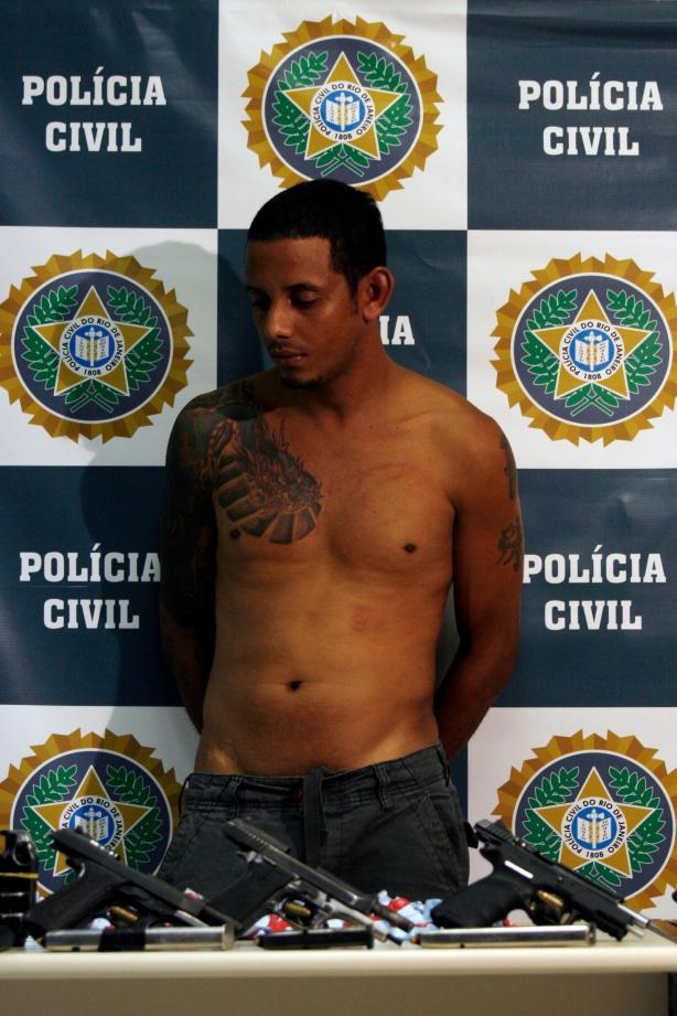 Anderson Santos da Silva, o Nego da Mangueira, 28 anos