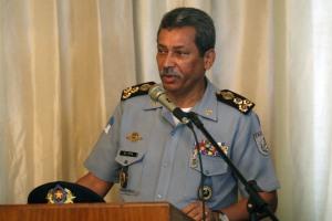 O comandante geral da PMERJ, coronel Gilson Pitta, trocou os comandos de 14 batalhões