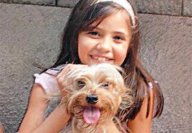 Letícia Coutinho Carvalhido, 13 anos
