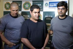 Um dos integrantes do trio de assaltantes, Alfredo de Brito Fracetti, 39 anos, foi preso no dia seguinte ao crime