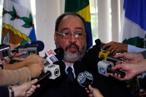 Corregedor geral da Polícia Civil concedeu entrevista coletiva para falar sobre o caso