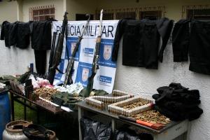 armas apreendidas na chatuba