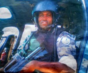 Cabo da Polícia Militar Izo Gomes Patrício, 36 anos, lotado no Grupamento Aéreo-Marítimo (GAM)